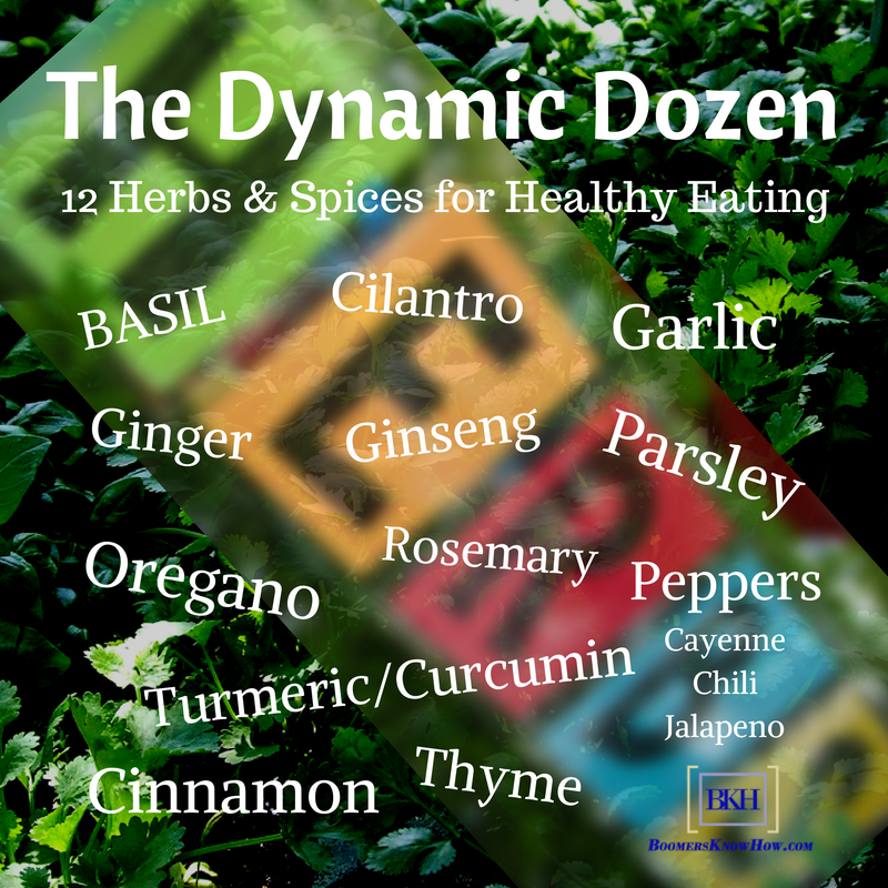 The Dynamic Dozen Infographic