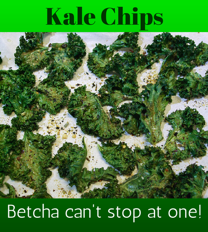 Baby Boomers Kale Chips
