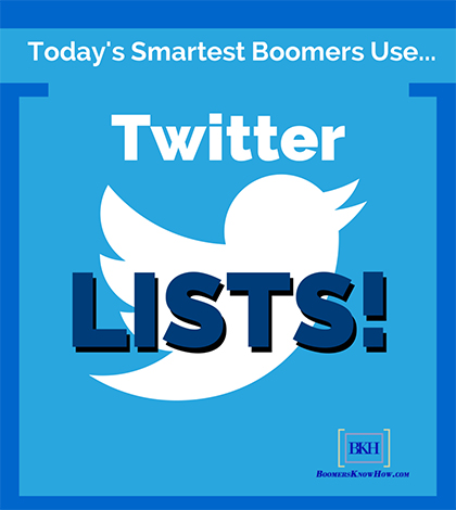 Baby Boomers Twitter Lists