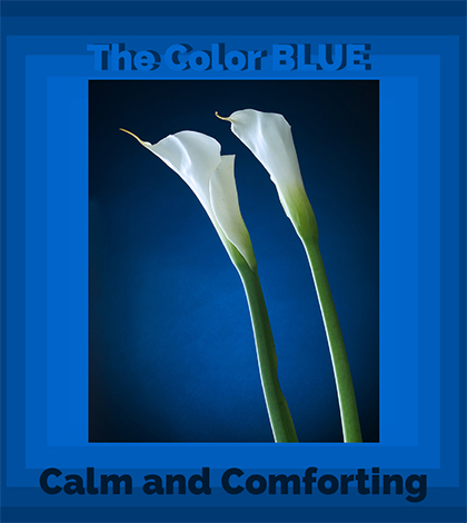 The Color Blue - color symbolism