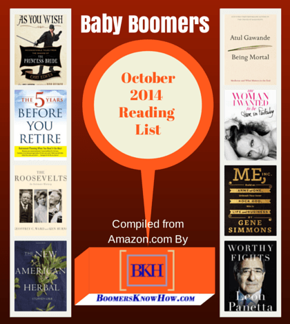 Baby Boomers October Books